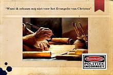 Want ik schaam mij niet voor het Evangelie van Christus 03-12-2017