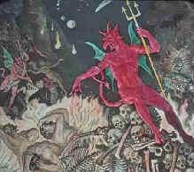 valse voorstelling van de hel